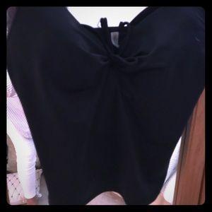 Victoria's Secret black bathing suit top